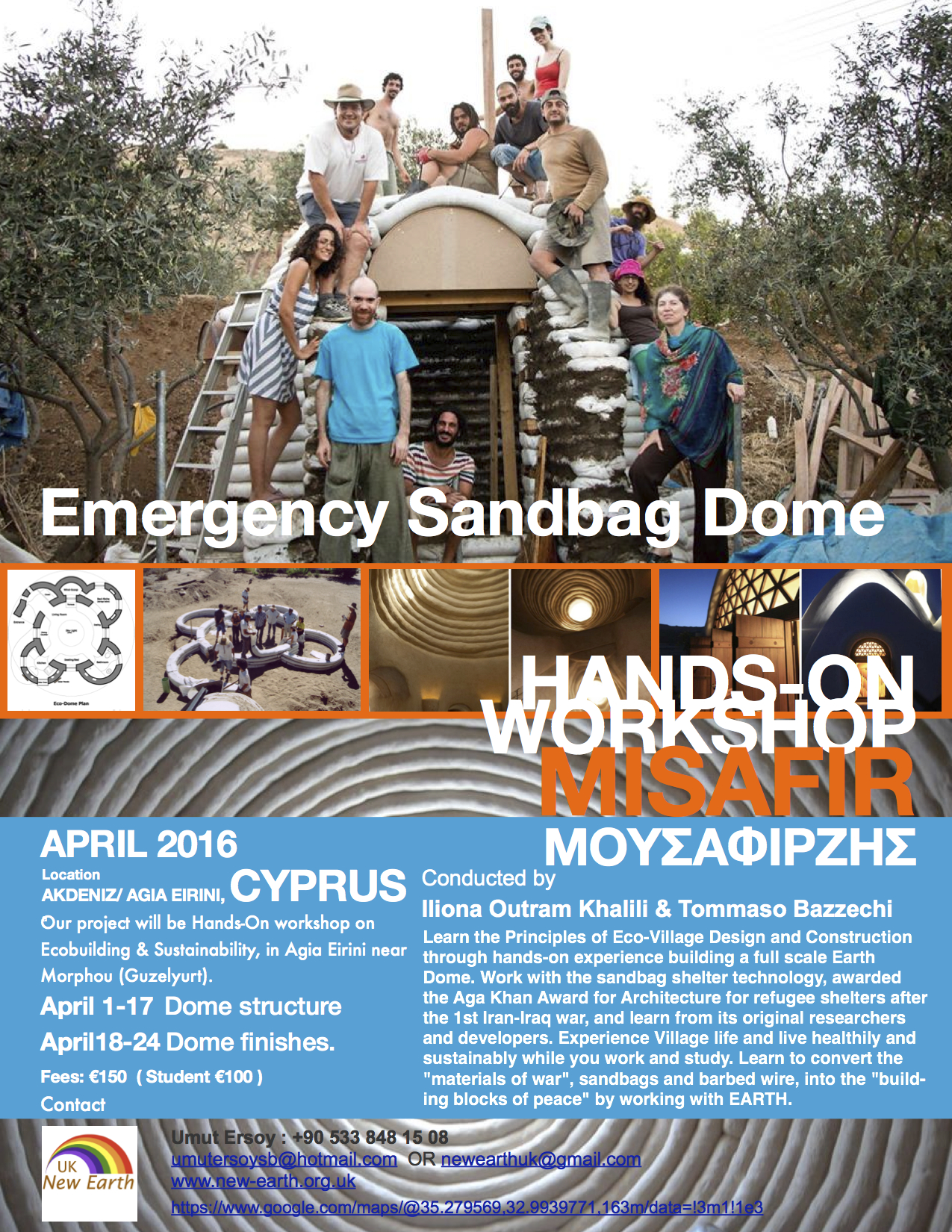 Workshop in Cyprus April 2016